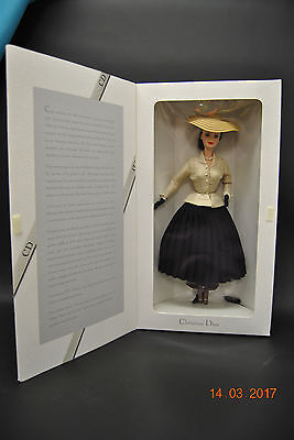 1996 Christian Dior Paris Barbie 50th Anniversary #16013 New Sealed Collectible
