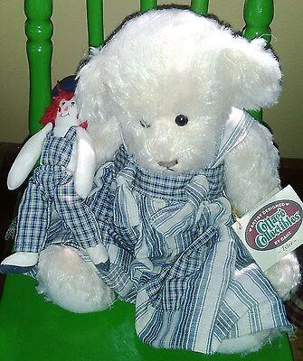 Cottage Collectibles by Ganz - Tyler Plush with mini Raggedy Ann