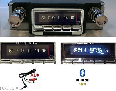1964-65 Ranchero Bluetooth Stereo Radio Multi Color Display FREE Aux Cable 740