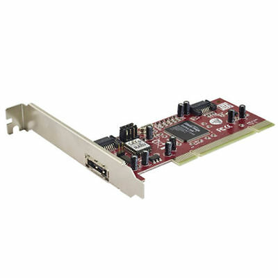 PCI TO SATA RAID 0/1 CARD 1 X EXT eSATA + 2 INT SATA Controller Expansion