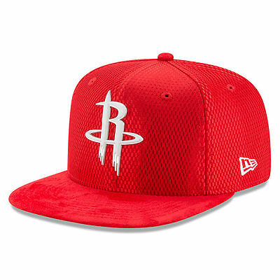 new products bb909 b0380 Houston Rockets New Era 2017 NBA Draft Official On Court Snapback Cap Hat  9Fifty