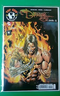 US Comic The Darkness Level # 2 Signed Signiert Tyler Kirkham Top Cow Image