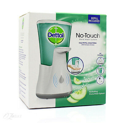 New Dettol Antibacterial No Touch Handwash Dispenser