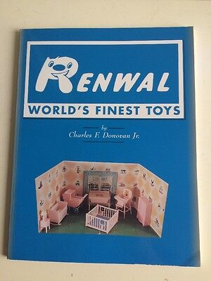 Renwal World's Finest Toys Charles F Donovan Dollhouse Price Guide Book