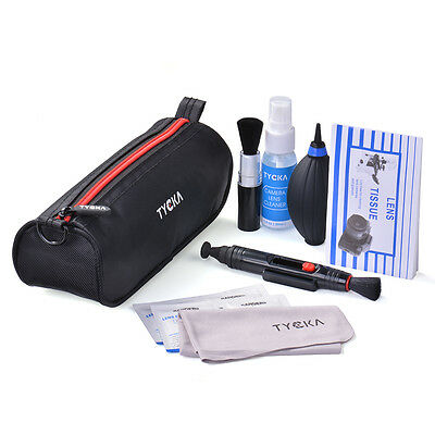 Tycka 8in1 Professional Lens Cleaning Pen Blower Kits para Canon DSLR Camera TK4