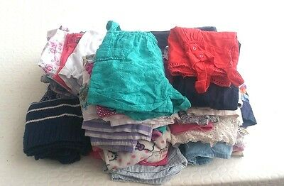 Wholesale Joblot 50 Girls Children Clothes Mixed Ages And Sizes
