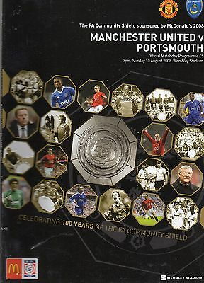 2008 Charity Shield - Manchester United Portsmouth - 10/08/08