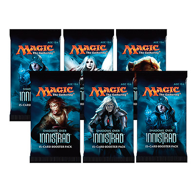 MTG: 6 NEW Shadows Over Innistrad Single Boosters