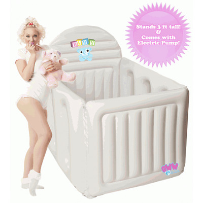 Adult Sized Inflatable Crib ABDL Ageplay