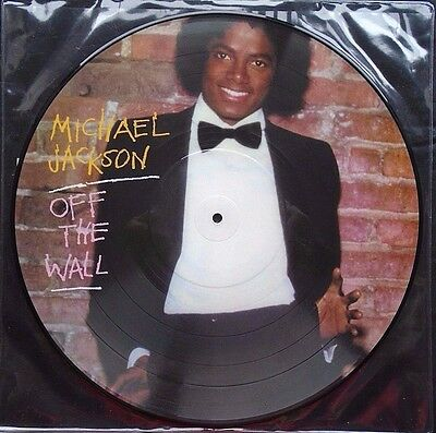 Michael Jackson ~ Off The Wall ~ Limited Edition Picture Disc Vinyl LP ~ New