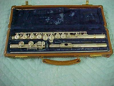 Vintage Artley Flute, EXCELLENT Reconditioned Condition!
