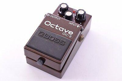 BOSS Guitar Base Accessory Effects Rare Octave OC-2 Discontinued item from JAPAN