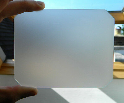 Any size ground glass focusing screen large format camera 8 x 10/ 5 x 7/ 5 x 4