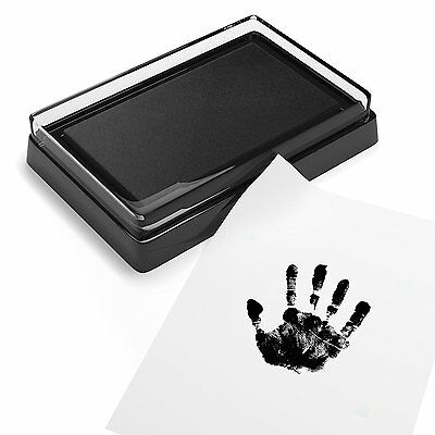 Baby Safe Print Ink Pad, Non-Toxic Baby Footprint and Handprint Kit, Keepsake to