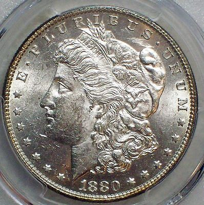1880 O PCGS MS-61 SILVER Morgan Dollar RARE Sharp Detail Lusterous and Bright $1