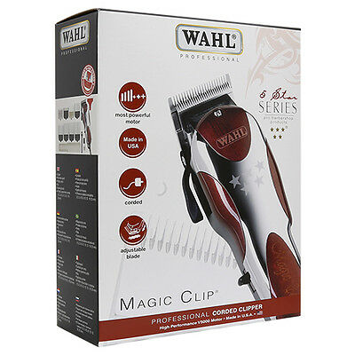 Wahl 5-Star Series Professional Magic Clip Corded Clipper 8451