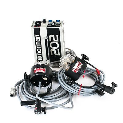 Norman 202 Power Pack with Two LH4 Lampheads