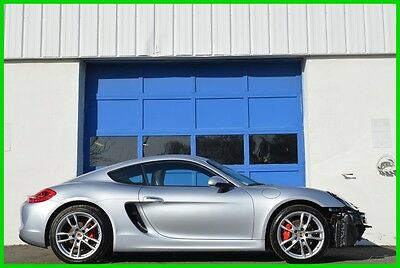 2014 Porsche Cayman S PDK Sport Chrono Navigation Bose Heated Seats ++ Repairable Rebuildable Salvage Lot Drives Great Project Builder Fixer Easy Fix