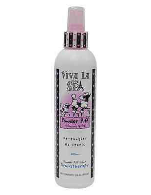 New Viva La Dog Spa Powder Puff Grooming Spritz 8oz