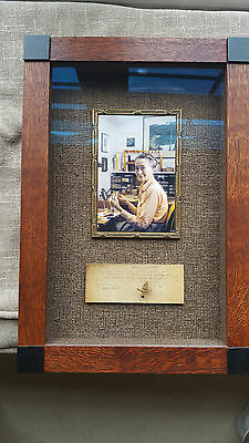 """Vintage Framed Helen Shaw """"mayfly"""" & Photo From Estate=Excellent=Free Shipping"""