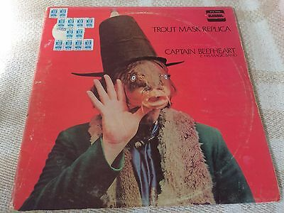 Captain Beefheart & His Magic Band Trout Mask Replica 2 x LP Straight 1969 Vinyl