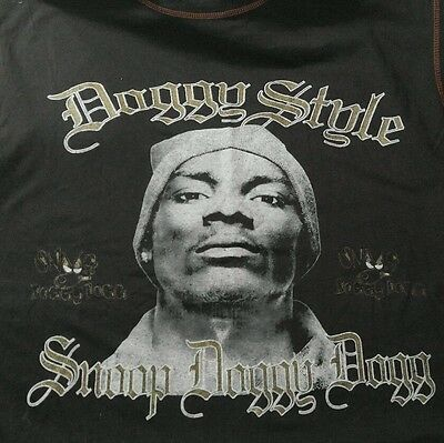 new concert Snoop Doggy Dogg 1993 T Shirt l xl Vintage Doggystyle gin and juice