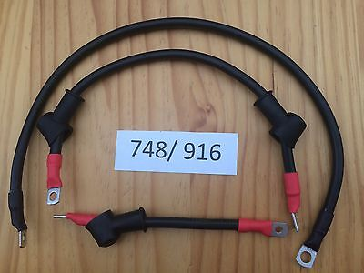 Ducati 998 998S Upgraded Starter Motor Cable Wiring Kit