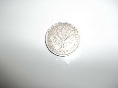 Cyprus 50 Mils Coin from 1955