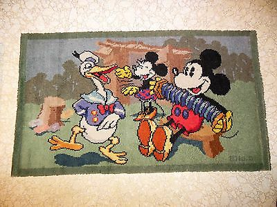 1930's Mickey Mouse Rug