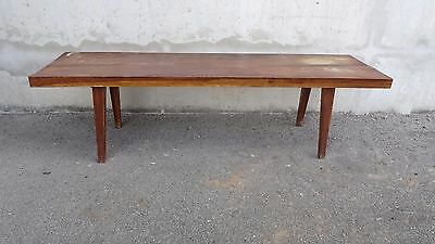 Grande table basse bois massif  Coffee table design style Jeanneret Perriand
