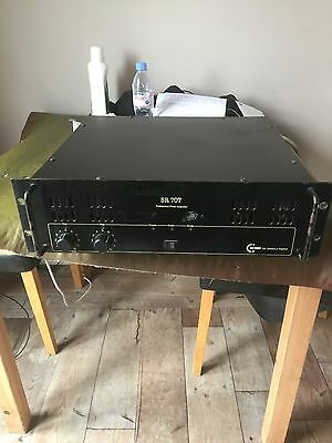 C-Audio 707 Power Amplifier
