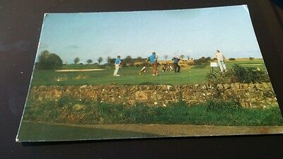 Postcard Ranfurly old golf club bridge of weir posted