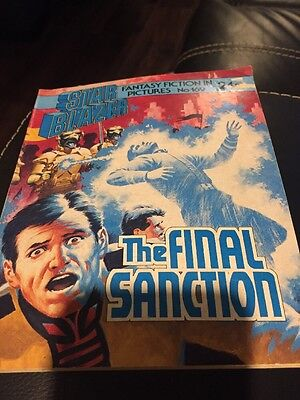 The Final Sanction Starblazer Space Fiction Adventure In Pictures,no.169 Comic