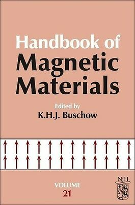 K. H. J. Buschow / Handbook of Magnetic Materials 21 /  9780444595935