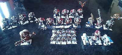 oldhammer ogre kingdoms army, RRP £150 for £90, painted and some conversions