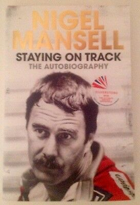 Nigel Mansell F1 Hand Signed Book