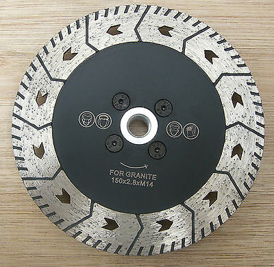"6"" 150mm professional diamond blade, disc for cutting, grinding granite,marble"