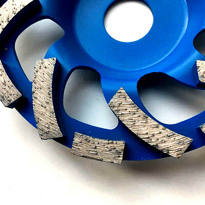 "125mm, 5"" diamond grinding disc, wheel, cup, turbo rows"