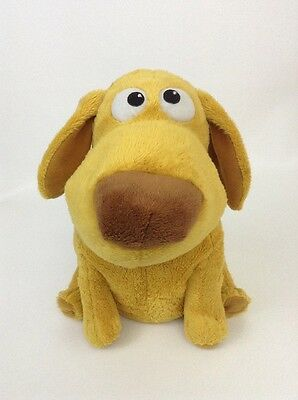 "Disney Pixar UP 10"" Dug Dog Plush MOVES & TALKS Wags Tail Snap Toys w/ Batteries"