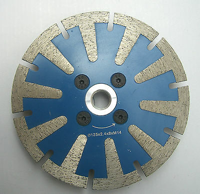 "5"" 125mm professional diamond blade, disc for cutting, grinding granite,marble"