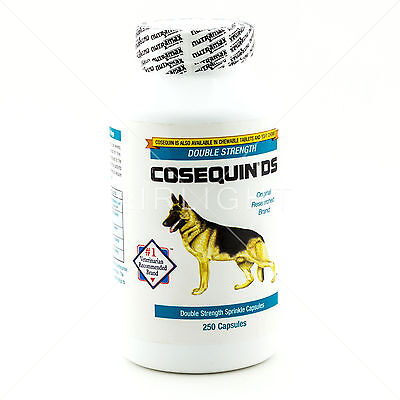 Nutramax COSEQUIN DS Double-Strength For Dogs Sprinkle Capsules 250 Count Ct