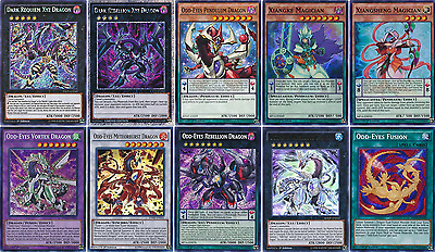 52 Cards Odd-Eyes Magician Deck| OTK* Dark Requiem Xyz Dragon Deck Yugioh