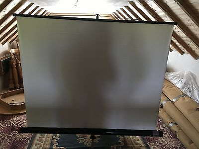 Portable Free Standing Projecter Screen on Stand/Folds away