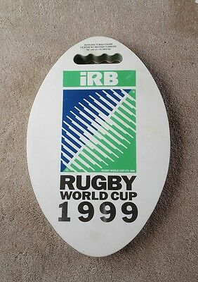 Rugby world cup 1999 seat cushion