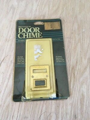 Trine Mechanical Door Chime .. Vintage From 1990 .. Brand New