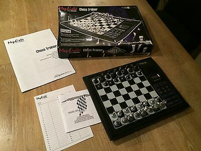 Mephisto Chess Trainer Computer Boxed Complete Fully Working Saitek