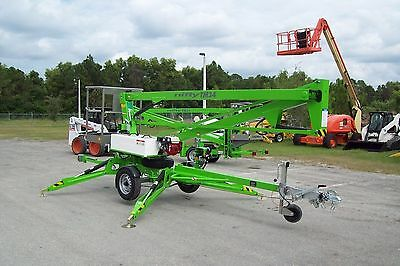 Nifty TM34H 40' Boom Lift, Hydraulic Outriggers, Battery Power