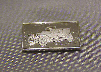 SOLID SILVER MINI INGOT of the ROLLS ROYCE 1906