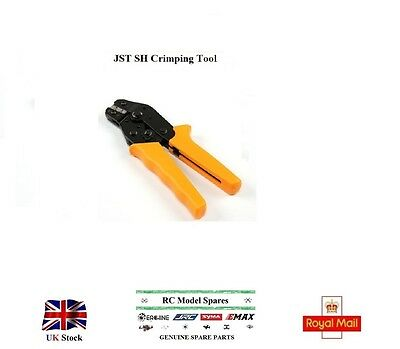 JST SH Crimping Tool Plugs Connector Models Servo Leads Terminal Pliers UK Hobby