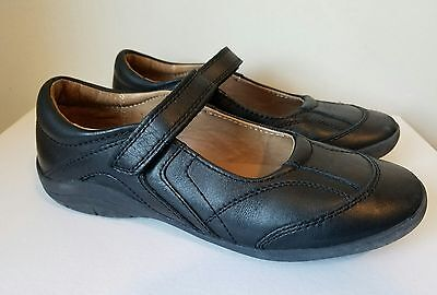 Stride Rite Mary Jane Shoes Black size 2 M Carla Leather